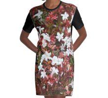 Jasmine Pink Graphic T-Shirt Dress