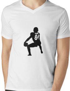 Antonio Brown Twerk Mens V-Neck T-Shirt