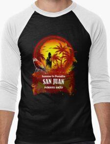 New Style..New Spirit Men's Baseball ¾ T-Shirt
