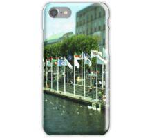 Hamburg city -tiltshift (2) iPhone Case/Skin