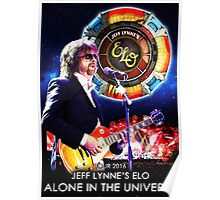 world tour alone in the universe jeff lyne Poster