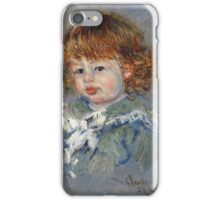 Claude Monet - Jean Pierre Hoschede Called Bebe Jean iPhone Case/Skin