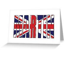 Martin (UK) Greeting Card