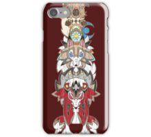 Rockruff Evolution Totem Pole iPhone Case/Skin
