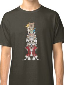 Rockruff Evolution Totem Pole Classic T-Shirt
