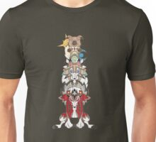 Rockruff Evolution Totem Pole Unisex T-Shirt