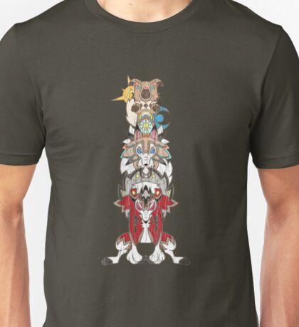 Rockruff Evolution Totem Pole Unisex T-Shirt