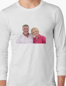 Paul Hollywood #3 w/ Mary Berry  Long Sleeve T-Shirt