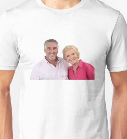 Paul Hollywood #3 w/ Mary Berry  Unisex T-Shirt