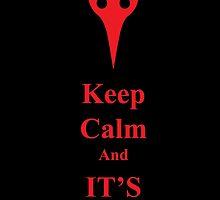 Keep Calm...It's Godzilla! by Ravioli-Heichou