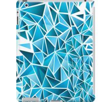 Shatter Blue iPad Case/Skin
