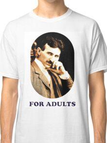 Tesla For Adults Classic T-Shirt
