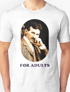 Tesla For Adults T-Shirt