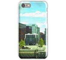Hamburg HafenCity -Tiltshift (1) iPhone Case/Skin