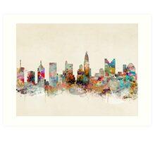 columbus ohio skyline Art Print
