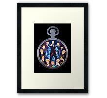 The Clock Strikes Twelve Framed Print