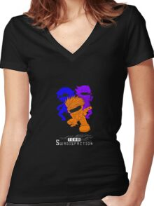 Team Swagisfaction! Women's Fitted V-Neck T-Shirt