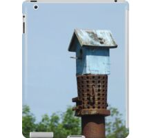 First bird house iPad Case/Skin