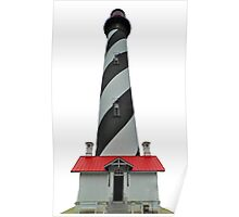 St Augustine Lighthouse Transparent Poster