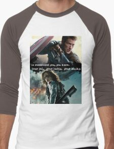Your Bucky  Men's Baseball ¾ T-Shirt