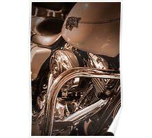 Harley Engine 1 Poster