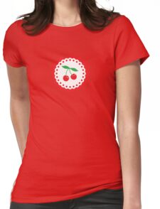 Cherry Pie Womens Fitted T-Shirt