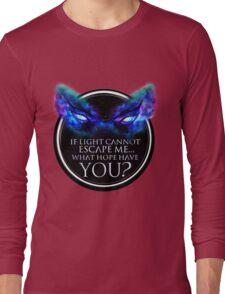 Enigma Eyes (White Background)(Transparent for Shirts) Long Sleeve T-Shirt
