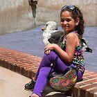 Sitting Quietly With A Big Bird! by Heather Friedman