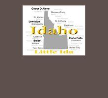 Idaho State Pride Map Silhouette  Unisex T-Shirt