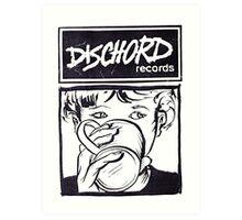 Dischord Records Art Print