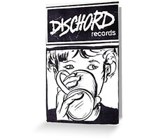 Dischord Records Greeting Card