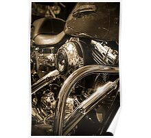 Harley Engine 2 Poster