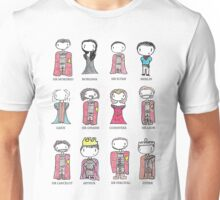 Merlin Characters Unisex T-Shirt