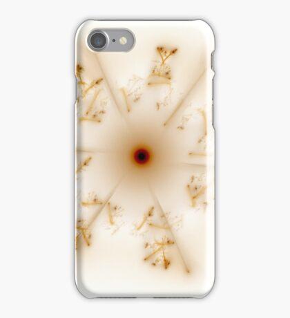 Fractal 30 brown star iPhone Case/Skin