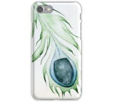 Celestial Peacock Feather iPhone Case/Skin