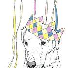 Party Animal ! Labrador by Adam Regester