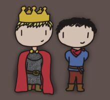 Merlin and Arthur Baby Tee