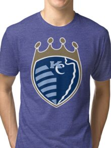 Kansas City Sports Mashup Tri-blend T-Shirt