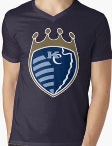Kansas City Sports Mashup Mens V-Neck T-Shirt