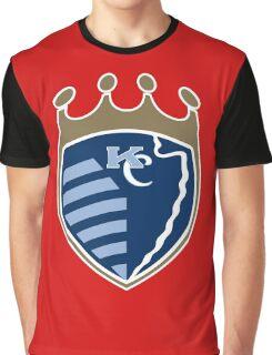 Kansas City Sports Mashup Graphic T-Shirt