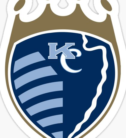 Kansas City Sports Mashup Sticker