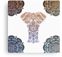 Decorative Elephant Canvas Print