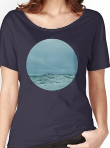 Ocean Meets Sky Women's Relaxed Fit T-Shirt