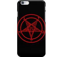 Satanic Pentagram iPhone Case/Skin