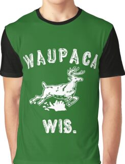 Original WAUPACA WISCONSIN - Dustin's Shirt in Stranger Things! Graphic T-Shirt
