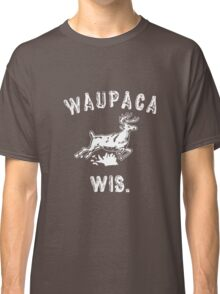 Original WAUPACA WISCONSIN - Dustin's Shirt in Stranger Things! Classic T-Shirt