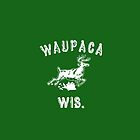Original WAUPACA WISCONSIN - Dustin's Shirt in Stranger Things! by livedeliciously