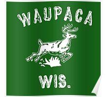 Original WAUPACA WISCONSIN - Dustin's Shirt in Stranger Things! Poster