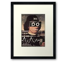 Don't touch my levels Framed Print