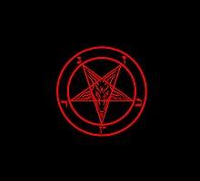 Satanic Pentagram by jasminelangley